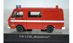 Volkswagen LT28 Brandweer (пожарная Голландии) 1975, масштабная модель, Premium X, 1:43, 1/43