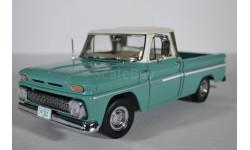 Chevrolet C-10 Styleside Pickup - Ivory  Light Green 1965, масштабная модель, Sunstar, 1:18, 1/18
