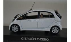 Citroen C-ZERO 2010 white pearl, масштабная модель, Citroën, Norev, 1:43, 1/43