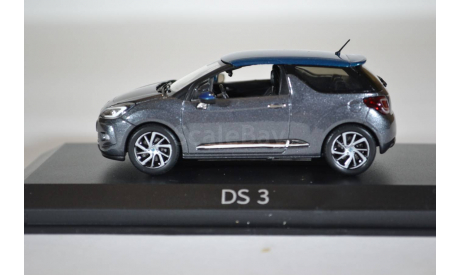 CITROËN DS3 2014 серый, масштабная модель, Norev, scale43