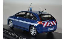 Citroen C4 2009 (рестайлинг) « Gendarmerie », масштабная модель, Norev, scale43, Citroën
