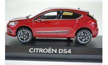 CITROËN DS4 2011 Babylone Red, масштабная модель, Norev, scale43