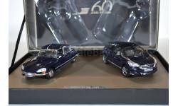 CITROEN DS23 (черный) + DS5 (темно-синий) Набор 60 лет DS из 2 моделей