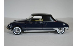 Citroen DS19 Cabriolet 1961 Royal Blue синий