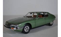Citroen SM 1971 Vert Argente Métallisé (зеленый металлик), масштабная модель, Norev, scale18, Citroën