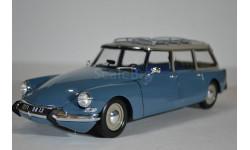 Citroen ID19 Break 1967 Monte Carlo Blue (синий), масштабная модель, Norev, scale18, Citroën