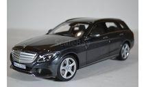 Mercedes-Benz C-Klasse Estate Exclusive (S205) W205 2014 серый, масштабная модель, Norev, scale18
