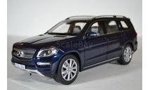 MERCEDES-BENZ GL500 (Х166) 2012 темно-синий, масштабная модель, Norev, scale18
