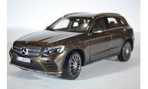 Mercedes-Benz GLC (X253) 2015 Brown Metallic (коричневый металлик), масштабная модель, Norev, 1:18, 1/18