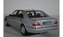 MERCEDES-BENZ S600 (W140) 1997 серый перламутр, масштабная модель, Norev, scale18