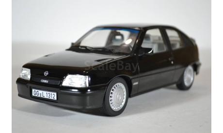 Opel Kadett GSI 1987 Black (черный), масштабная модель, Norev, 1:18, 1/18