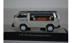 Volkswagen T3a Weinberger Schalksmühle Hearses (катафалк) 1979 серебристый, масштабная модель, Premium Classixxs, 1:43, 1/43