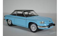 Panhard 24CT 1964 Tolede BlueBlack (синий с черным), масштабная модель, Norev, 1:18, 1/18
