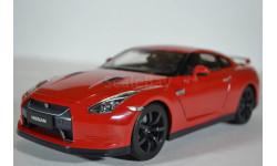 Nissan GT-R (R-35) 2008 красный, масштабная модель, Norev, 1:18, 1/18