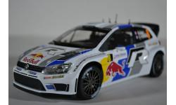 Volkswagen POLO R WRC #8 S.Ogier-J.Ingrassia Winner Rally France 2013 (World Champion)