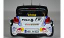 Volkswagen Polo R WRC #1 S.Ogier-J.Ingrassia World Champion победитель Rally RACC Catalunya 2014, масштабная модель, Norev, scale18