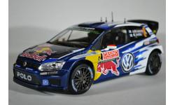 Volkswagen Polo R Wrc #2 LatvalaAnttila Rally Monte Carlo 2015, масштабная модель, Norev, 1:18, 1/18