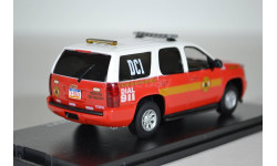 CHEVROLET TAHOE Philadelphia Fire Department (пожарный), масштабная модель, First Response Replicas, 1:43, 1/43