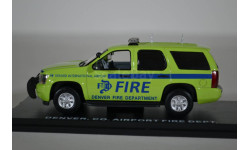 CHEVROLET TAHOE Denver International Airport Fire Department (пожарный) 2012, масштабная модель, First Response Replicas, scale43