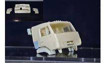 Сборные модели: Днище + дверные карты на Камаз со спальником  (ссм, пао, аист), запчасти для масштабных моделей, ИВ, 1:43, 1/43