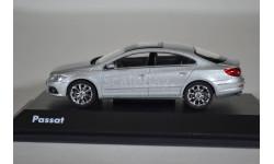 Volkswagen Passat CC серебристый, масштабная модель, Schuco, 1:43, 1/43