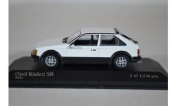 Opel Kadett SR 1979 WHITE, масштабная модель, Minichamps, scale43