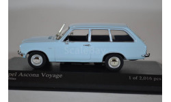 Opel Ascona Voyage 1970 light blue, масштабная модель, Minichamps, scale43