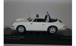 Porsche 911 TARGA - 1965 - GENDARMERIE AUSTRIA, масштабная модель, Minichamps, scale43