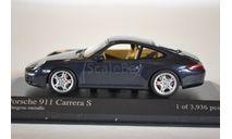 Porsche 911 Carrera S 2004 (Grey metallic), масштабная модель, Minichamps, scale43