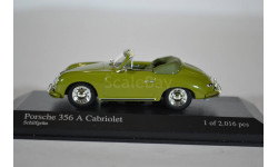 Porsche 356A Cabriolet 1956 light green, масштабная модель, Minichamps, 1:43, 1/43