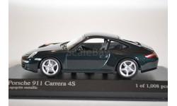 Porsche 911 CARRERA 4S COUPÉ 2005 · GREEN METALLIC