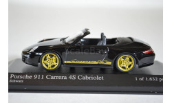 PORSCHE 911 CARRERA 4S CABRIOLET 2005 BLACK