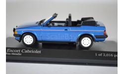 Ford ESCORT III CABRIOLET - 1983 - BLUE METALLIC
