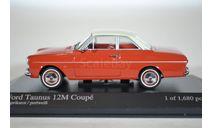 Ford Taunus 12M 1962 красный, масштабная модель, scale43