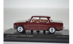 ALFA ROMEO GIULIA - 1970 - RED, масштабная модель, Minichamps, 1:43, 1/43