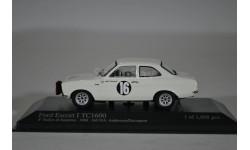 Ford ESCORT I TC ANDERSSONDAVENPORT SANREMO RALLY 1968 WINNER, масштабная модель, Minichamps, 1:43, 1/43