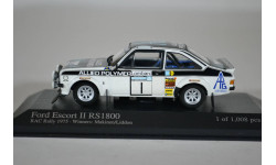 Ford ESCORT II RS1800 1st RAC RALLY 1976 MAKINEN