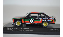 Ford ESCORT II RS 1800 CASTROL A.HAHNE · DRM SUPERSPRINT NUERBURGRING 1976