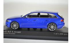 Audi RS 4 Avant, масштабная модель, Porsche, Minichamps, 1:43, 1/43