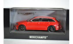 AUDI RS6 AVANT - 2012 - RED, масштабная модель, Minichamps, 1:43, 1/43