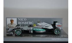 MERCEDES AMG PETRONAS F1 TEAM W03 - NICO ROSBERG - 1ST WIN CHINESE GP - 2012, масштабная модель, Mercedes-Benz, Minichamps, 1:43, 1/43