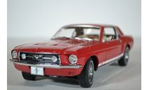 Ford Mustang  GT 1967, масштабная модель, scale18, Greenlight Collectibles