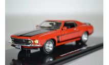 Ford Mustang Boss 302 - calypso coral red 1969, масштабная модель, Highway 61, 1:43, 1/43