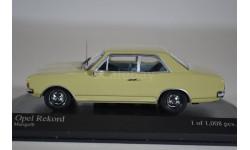 Opel REKORD C 1966 желтый, масштабная модель, Neo Scale Models, 1:43, 1/43