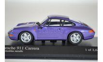 Porsche 911 1993 (Purple metallic), масштабная модель, Minichamps, 1:43, 1/43