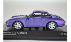 Porsche 911 1993 (Purple metallic), масштабная модель, Minichamps, 1:43, 1/43