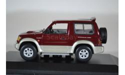 Mitsubishi Pajero II SWB 1994 красный мет