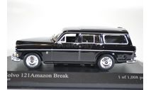 Volvo 121 AMAZON BREAK - 1966 - BLACK, масштабная модель, Minichamps, scale43