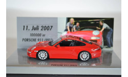 Porsche 911 CARRERA S RED 100.000er PORSCHE 911 (997)
