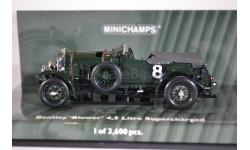 Bentley Blower 4,5 litre Supercharged (BanjafieldRamponi, 24h LeMans 1930), масштабная модель, Minichamps, 1:43, 1/43